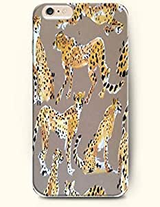 For HTC One M7 Case Cover Case with of Yellow Panthers - Animal Print -Authentic Skin