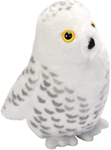 Wild Republic Audubon Birds Snowy Owl with Authentic Bird Sound, Stuffed Animal, Bird Toys for Kids & Birders