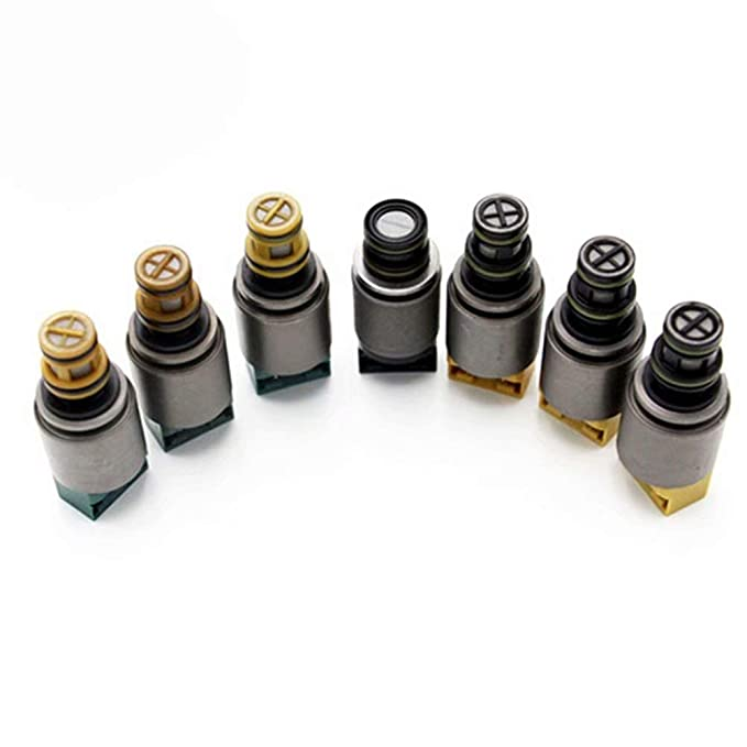 7PCS Transmission Solenoids 6HP19 6HP26 6HP32 Fits for BMW X3 X5 AUDI A4 A6 A8 Q7 6HP19