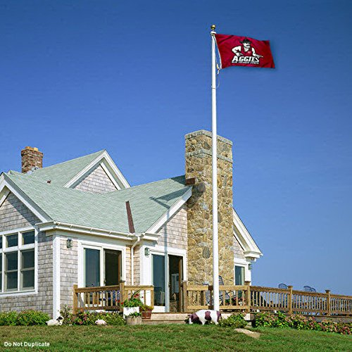 College Flags and Banners Co New Mexico State Aggies Double Sided Flag