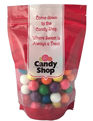 Candy Shop Assorted 8 Color 1 Inch Gumballs (1 -