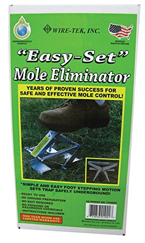 Wire Tek 1001 EasySet Mole Eliminator Trap (2 Pack)