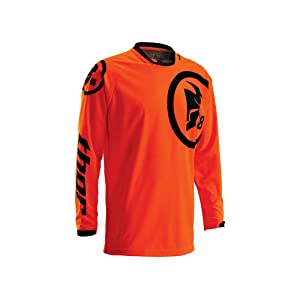 Maillot Cross THOR Phase Gasket - Flo Orange / Noir - Taille L