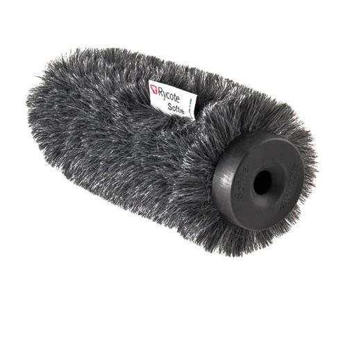 Rycote Softie, Long Hair Wind Diffusion, 5cm Long with Large Hole, Front Only
