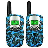 Tisy Two Way Radios for Adult Boys Girls, Long Range Two Way Radios Set for Adult Boys Toys for 3-12 Year Old Girls Christmas Birthday Presents Gifts Stocking Fillers DJ02