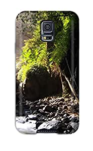 New Charles C Lee Super Strong Earth Waterfall Tpu Case Cover For Galaxy S5 by icecream design