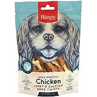 Wanpy WPY62 Dry Chicken Jerky Wrap on Calcium Bone 100 g, Small
