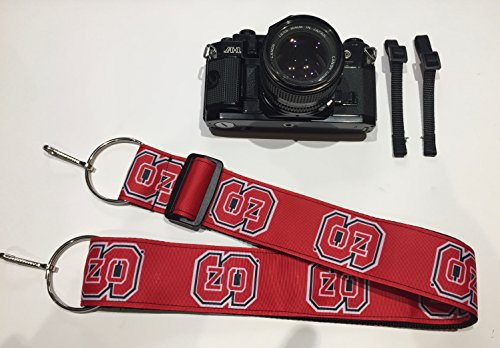 North Carolina Optic - NCAA Collegiate Camera Strap - North Carolina State Wolfpack