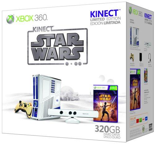 Amazon com: Xbox 360 Limited Edition Kinect Star Wars Bundle