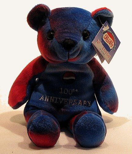 (Pepsi Cola 100th Anniversary 1999 Bear#4- Anniversary Bear)