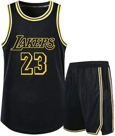 para 23 Lebron James Los Angeles Lakers Niños Ropa de Baloncesto ...