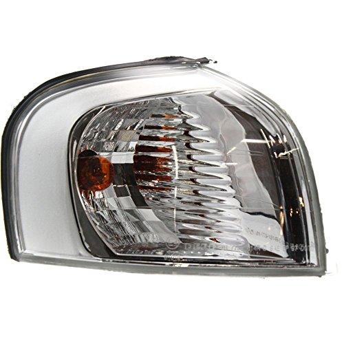 Corner Light for Volvo S80 04-06 Corner Lamp RH Assembly Park/Signal Lamp Chrome Halogen Headlamp Type Right ()