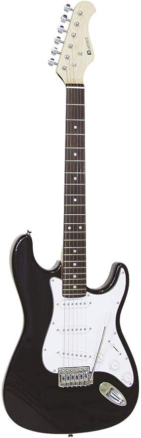 Guitarra eléctrica PATRON con accesorios, negro-blanco - Guitarra ...