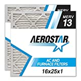 16x25x1 AC and Furnace Air Filter by Aerostar