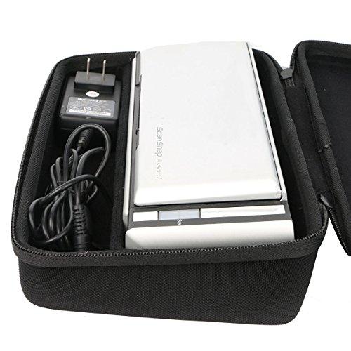 Khanka Hard Case for Fujitsu ScanSnap S1300i Mobile Document Scanner by Khanka (Image #4)