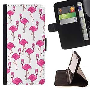 Dragon Case- Caja de la carpeta del caso en folio de cuero del tir¨®n de la cubierta protectora Shell FOR Samsung Galaxy G360 G3608 G3606- Swan Cute