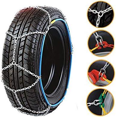 タイヤチェーン タイヤチェーン 高性能金属製ジャッキアップ不要取付簡単 コンパクト収納スピーディア (Size : 215/70-14)