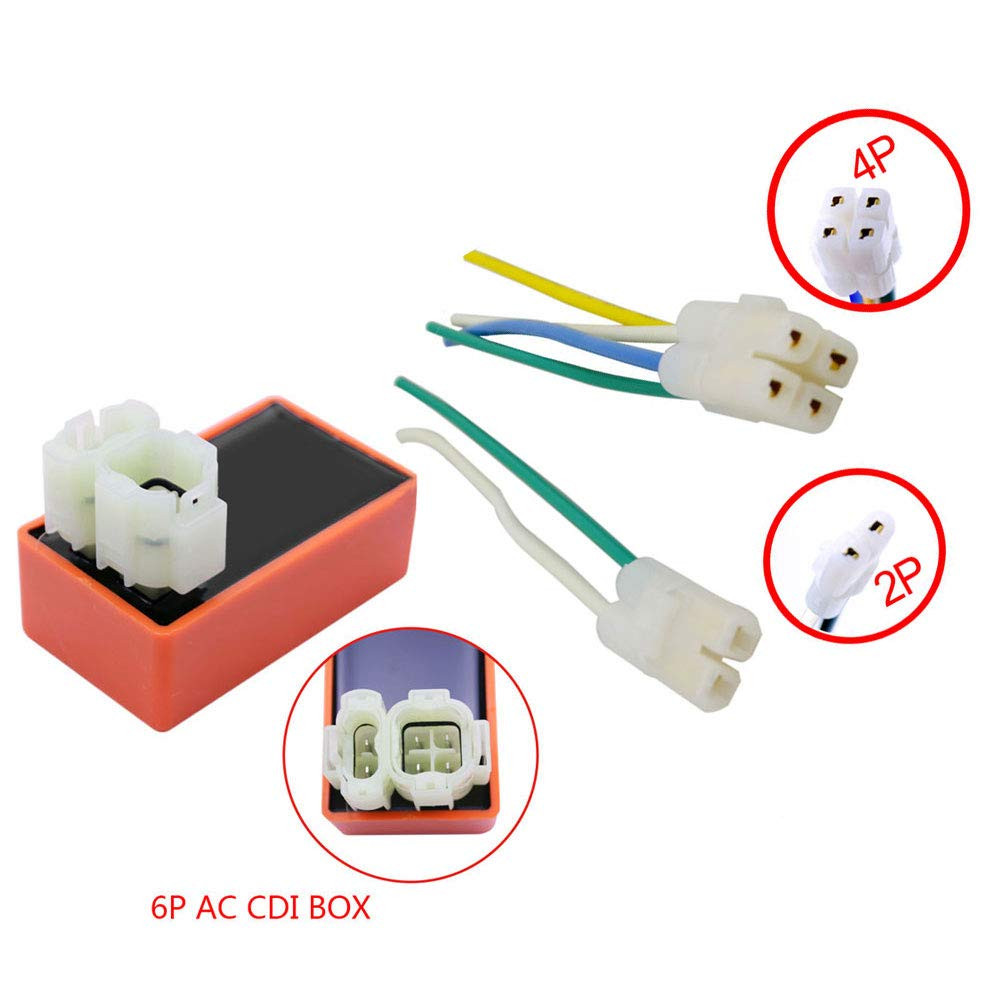 FLYPIG Replacement High Performance CDI Box /& Plug Fit For Honda TRX 300 Fourtrax 1988-1993