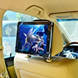 "TFY 9-Inch to 10.1-Inch Tablet PC Car Headrest Mount, Fast-Attach Fast-Release Edition, for iPad Pro 9.7"" and other 9 - 10.1 inch Tablet PCs, Black"
