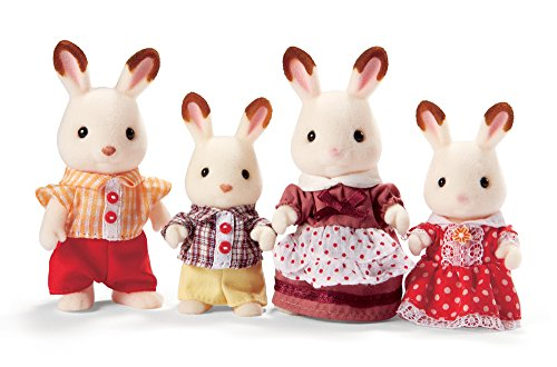 Calico Critters Hopscotch Rabbit Family from Calico Critters