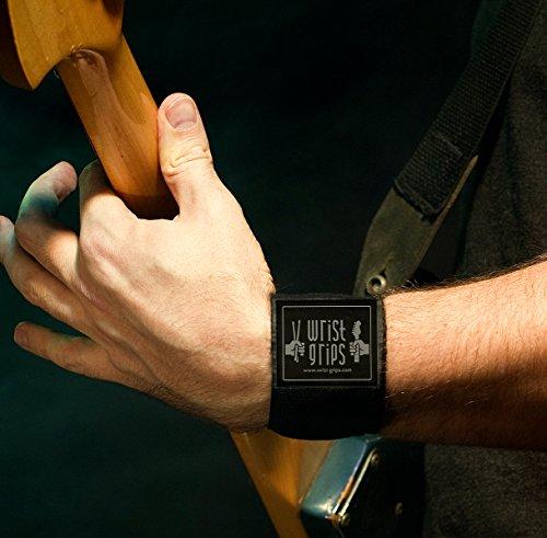 (WristGrips Compression Wraps for Musicians | Carpal Tunnel, Tendonitis & Arthritis Releif )