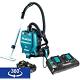 Makita XCV05PT 18V X2 LXT Lithium Ion (36V) Brushless Cordless 1/2 gallon HEPA Filter Backpack Dry Vacuum Kit (5.0Ah)