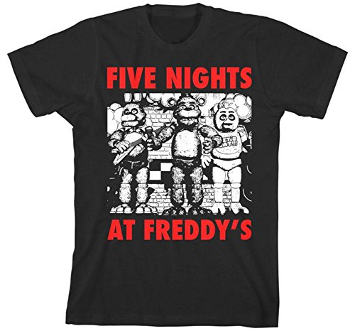 Youth: Five Nights at Freddys- Character Kids T-Shirt Size YM