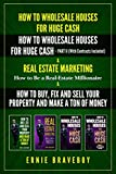 HOW TO WHOLESALE HOUSES FOR HUGE CASH HOW TO WHOLESALE HOUSES FOR HUGE CASH – PART II (WITH CONTRACTS INCLUDED) REAL ESTATE MARKETING HOW TO BE A REAL ESTATE MILLIONAIRE & HOW TO BUY AND FIX AND SELL