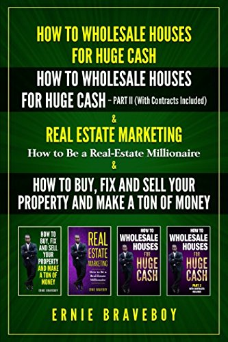 Download HOW TO WHOLESALE HOUSES FOR HUGE CASH HOW TO WHOLESALE HOUSES FOR HUGE CASH – PART II (WITH CONTRACTS INCLUDED) REAL ESTATE MARKETING HOW TO BE A REAL ESTATE MILLIONAIRE & HOW TO BUY AND FIX AND SELL ebook