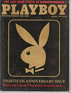 Playboy January 1984 Thirtieth 30th Anniversary Issue - Last Nude photos of Marilyn Monroe (Playboy)
