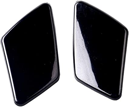 UPSM Front Bumper Headlight Washer Cover Cap 39875253 39875254 1 Pair Right and Left Side Fit for Volvo XC90 2007-2014