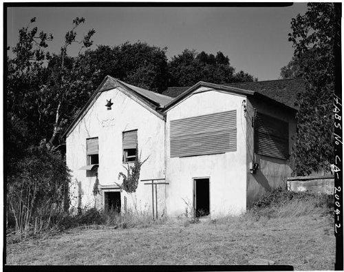 HistoricalFindings Photo: Malaguerra Winery,Burnett Road,Morgan Hill,Santa Clara County,California,CA,1 - Morgan Winery California