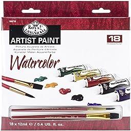 Royal & Langnickel Watercolor Paint, 20-Piece
