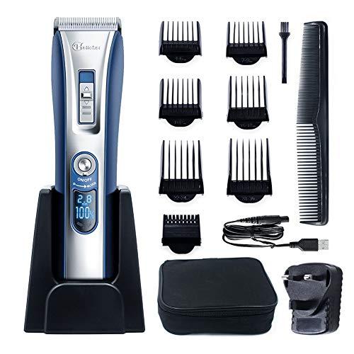 HATTEKER Professional Hair Clipper Hair Trimmer Cordless Clippers Beard...