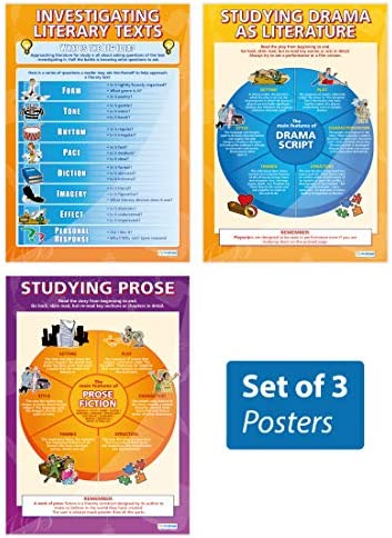"""Investigating Literary Texts Posters – Set of 3 