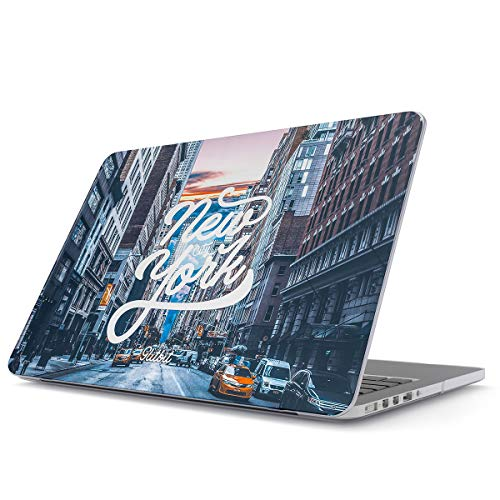 - Glitbit Hard Case Cover Combatible with MacBook Pro 13 Inch Case Release 2012-2015, Model: A1502 / A1425 Retina Display NO CD-ROM York City Big Apple USA Times Square America Travel Wanderlust