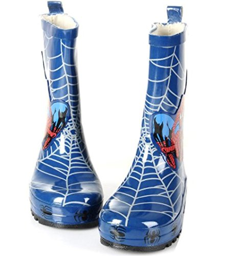Pictures of Spider-Man Boy Kids Wellington Boots Wellies 4