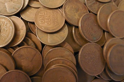 1000 1930-1939 P,D,S Wheat Pennies w/ 5 Bonus Au Mercury Dimes by US Mint