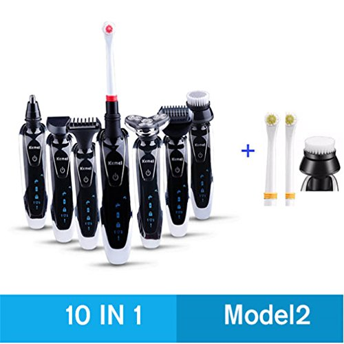 7 In 1 3D Electric Shaver Trimmer Rechargeable Razor Shaving Machine Barbeador Face Care model2 10in1 – Adult Incontinence Review