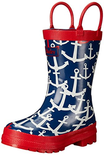 Hatley Girls Scattered Anchors Boots