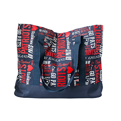 New England Patriots Womens Collage Tote