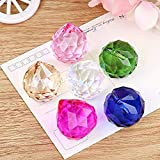 SunAngel Coloful Glass Crystal Ball Prisms