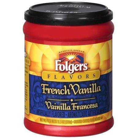 Folgers French Vanilla Coffee - 11.5 oz - 2 pk - Folgers French Coffee