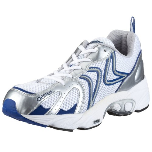 Aetrex Men's Z581M Zoom Runner,White/Silver,7.5 M US