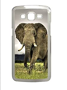 Cheap Samsung Galaxy Grand 2 7106 Case,Samsung Galaxy Grand 2 7106 Cases -The Elephant Polycarbonate Hard Case Back Cover for Samsung Galaxy Grand 2 7106¡§CTransparent