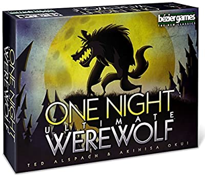 Bezier Games One Night Ultimate Werewolf by Publisher Services Inc (PSI)