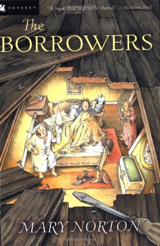 Book cover for The Borrowers