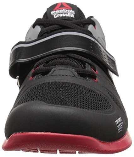 Reebok Men's R Crossfit Lifter 2.0 Training Shoe, Black/Flat Grey/Excellent Red, 13 M US by Reebok (Image #4)