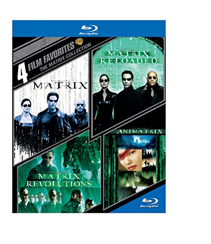 Blu-ray : 4 Film Favorites: The Matrix Collection (Boxed Set, 4 Disc)