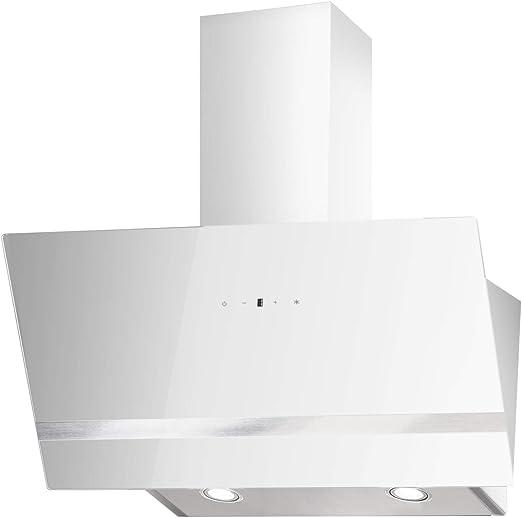 PKM S21-90AWTY - Campana extractora (90 cm), color blanco: Amazon.es: Grandes electrodomésticos